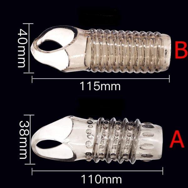 penis extension sleeves, penis sleeve enhancer