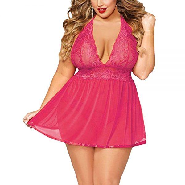 pink dress underwear
